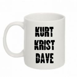 Кружка 320ml Kurt Krist Dave - FatLine