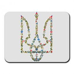 Коврик для мыши Квітучий герб України - FatLine