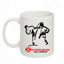 Кружка 320ml Kyokushin Full Contact - FatLine