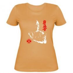 Женская Kyokushin Kanku logo - FatLine