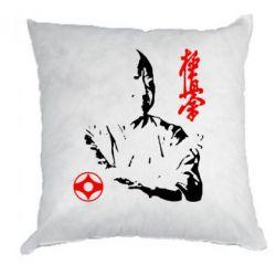 Подушка Kyokushin Kanku logo - FatLine