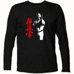 Футболка с длинным рукавом Kyokushin Kanku Master