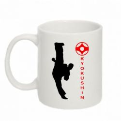 Кружка 320ml Kyokushin Kick - FatLine