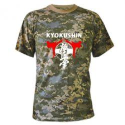 Камуфляжная футболка Kyokushin - FatLine