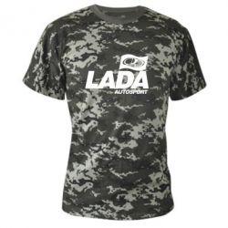 Камуфляжная футболка Lada Autosport - FatLine