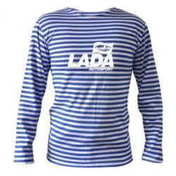 Тельняшка с длинным рукавом Lada Autosport - FatLine