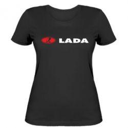 Женская футболка Lada - FatLine