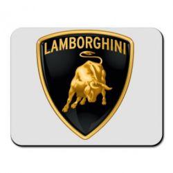 Коврик для мыши Lamborghini Logo - FatLine