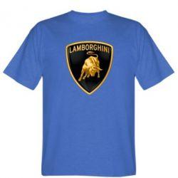 Мужская футболка Lamborghini Logo - FatLine