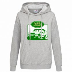 Женская толстовка Land Rover