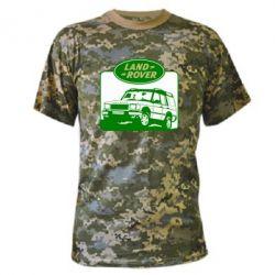 Камуфляжная футболка Land Rover - FatLine