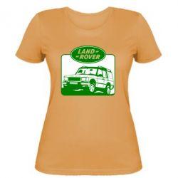 Женская футболка Land Rover - FatLine