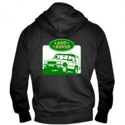 Мужская толстовка на молнии Land Rover - FatLine