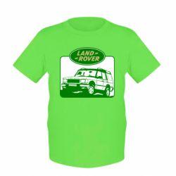 Детская футболка Land Rover - FatLine