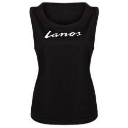 Женская майка Lanos Logo - FatLine