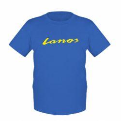 Детская футболка Lanos Logo - FatLine