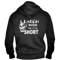 ������� ��������� �� ������ Laugh becouse Life is short - FatLine