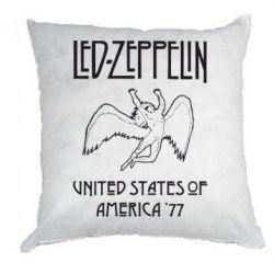 Подушка Led Zeppelin United States of America 77 - FatLine