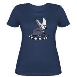 Женская футболка Лемур - FatLine