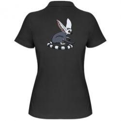 Женская футболка поло Лемур - FatLine