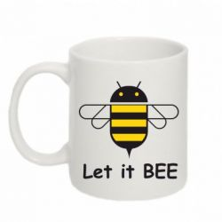 Кружка 320ml Let it BEE Android - FatLine