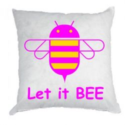 Подушка Let it BEE Android - FatLine