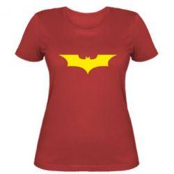 Жіноча футболка кажан - FatLine