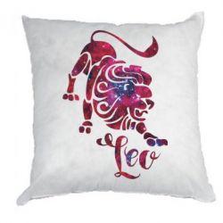 Подушка Лев звезды