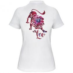 Жіноча футболка поло Лев зірки