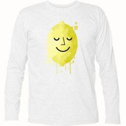 Футболка с длинным рукавом Лимон, Lemon