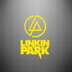 Наклейка Linkin Park - FatLine