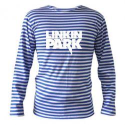 Тельняшка с длинным рукавом Линкин Парк - FatLine