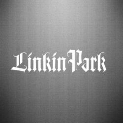 Наклейка LinkinPark - FatLine