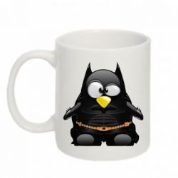 Кружка 320ml Linux+Batman