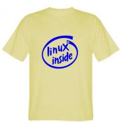 Мужская футболка Linux Inside - FatLine