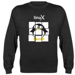 Реглан Linux pinguine - FatLine