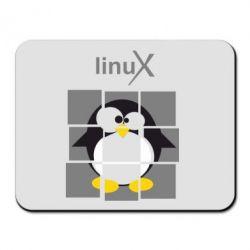 Коврик для мыши Linux pinguine