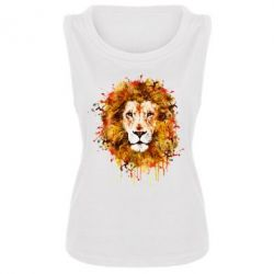 Женская майка Lion Art