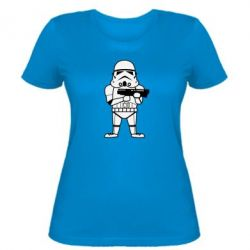 Женская футболка Little Stormtrooper - FatLine