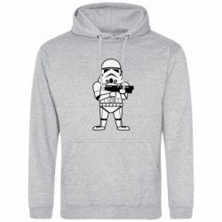 Мужская толстовка Little Stormtrooper - FatLine