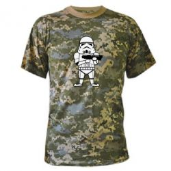 Камуфляжная футболка Little Stormtrooper - FatLine