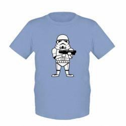 Детская футболка Little Stormtrooper - FatLine