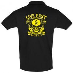 Футболка Поло Live Fast - FatLine