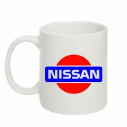 Кружка 320ml Logo Nissan - FatLine