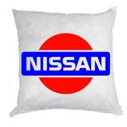 Подушка Логотип Nissan