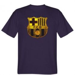 Мужская футболка Логотип Барселоны - FatLine