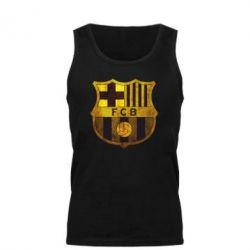 Мужская майка Логотип Барселоны - FatLine