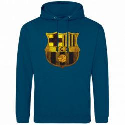 Мужская толстовка Логотип Барселоны - FatLine
