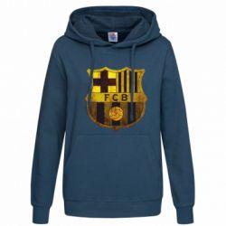 Женская толстовка Логотип Барселоны - FatLine