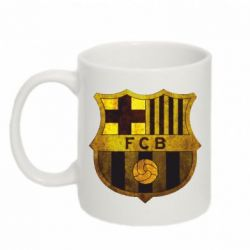 Кружка 320ml Логотип Барселоны - FatLine